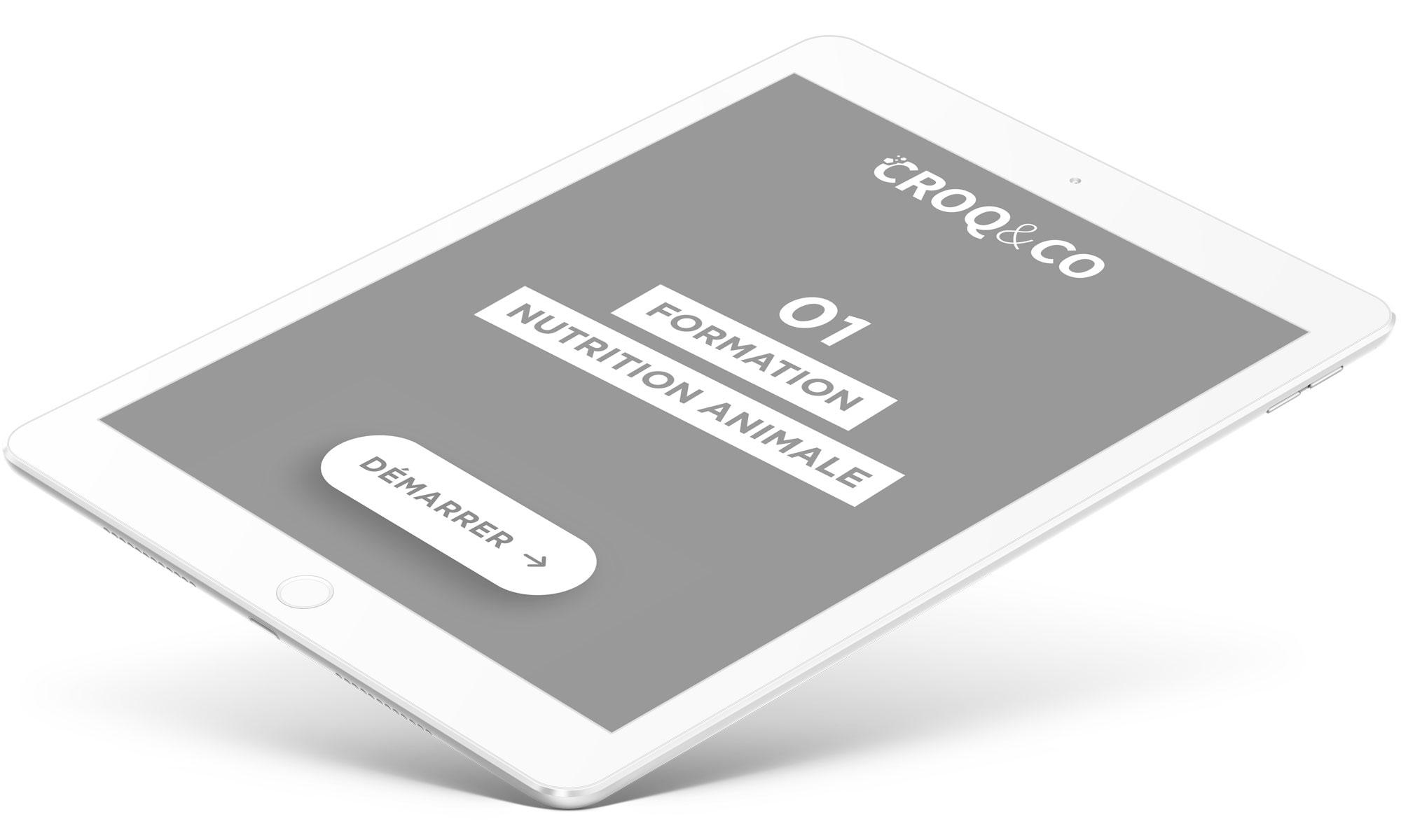 Les modules de formation sont gartuits et à la carte chez CROQ&CO