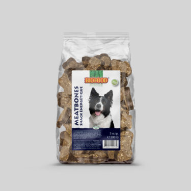 Biscuits Snacks aux Viandes pour chien BIOFOOD by CROQ&CO