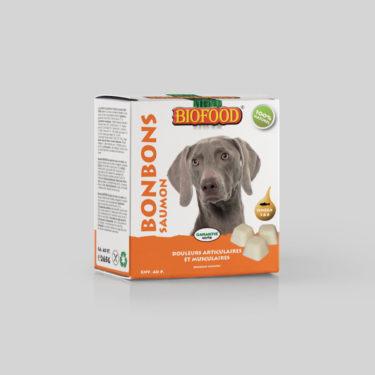 Bonbons Douleurs Articulaires et Musculaires pour chien maxi BIOFOOD by CROQ&CO