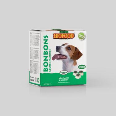 Bonbons Résistance et Digestion pour chien mini BIOFOOD by CROQ&CO