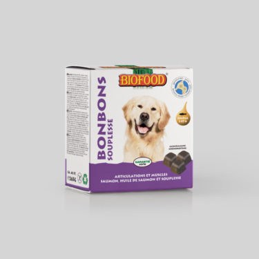 Bonbons Souplesse Articulations et Muscles pour chien BIOFOOD by CROQ&CO