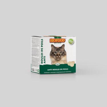 Comprimés Boules de Poils pour chat BIOFOOD by CROQ&CO