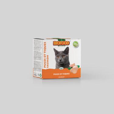 Comprimés Puces et Tiques pour chat BIOFOOD by CROQ&CO
