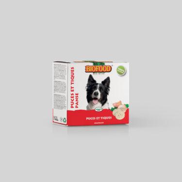 Comprimés Puces et Tiques pour chien maxi BIOFOOD by CROQ&CO