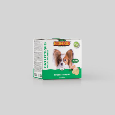 Comprimés Puces et Tiques pour chien mini BIOFOOD by CROQ&CO
