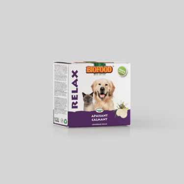 Comprimés Relax pour chien et chat BIOFOOD by CROQ&CO