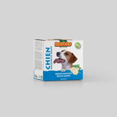 Comprimés Soins Dentaires pour chien BIOFOOD by CROQ&CO