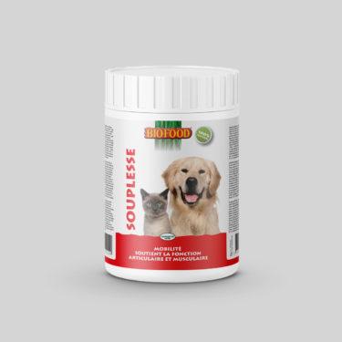 Herbes Naturelles Souplesse pour chien et chat maxi format BIOFOOD by CROQ&CO